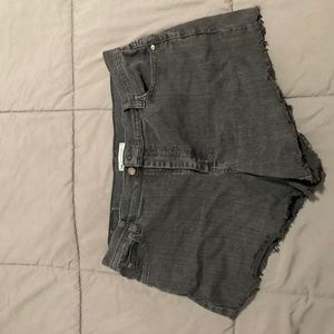 Vintage Lee Distressed Shorts